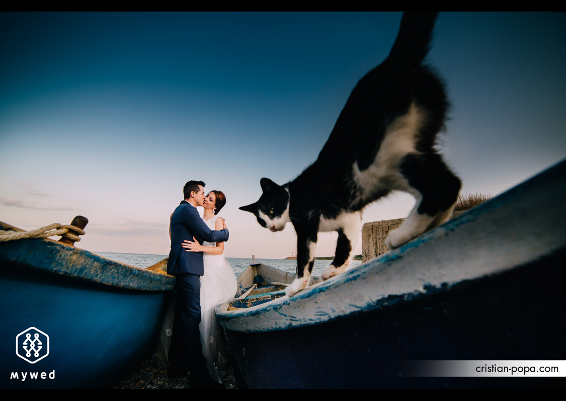 Iulia si Ionel – Trash the dress